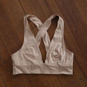 3caf3eb86c8 aerie Intimates   Sleepwear - Aerie Sunnie Nude Racerback Bralette